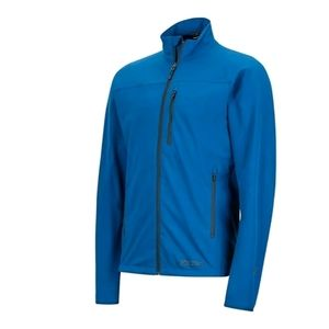 Marmot Trnpo Softshell Jacket Mens Size XXL Blue